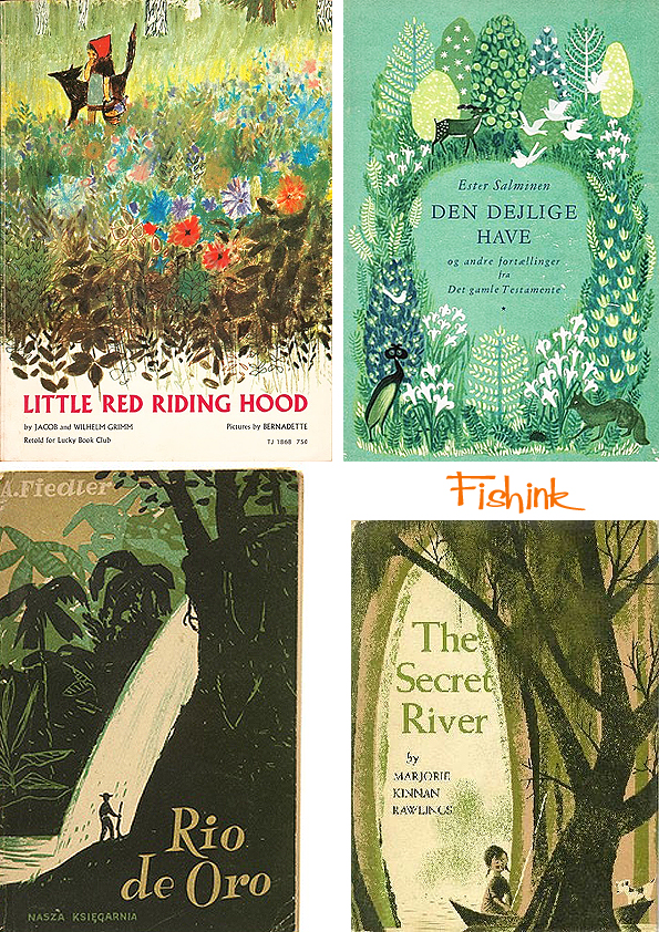 Fishinkblog 8063 Vintage Book Covers 3