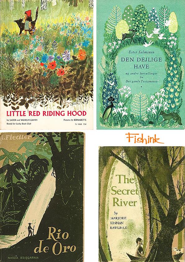 Fishinkblog 8063 Vintage Book Covers 3