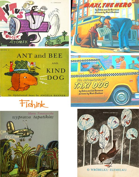 Fishinkblog 8066 Vintage Book Covers 6