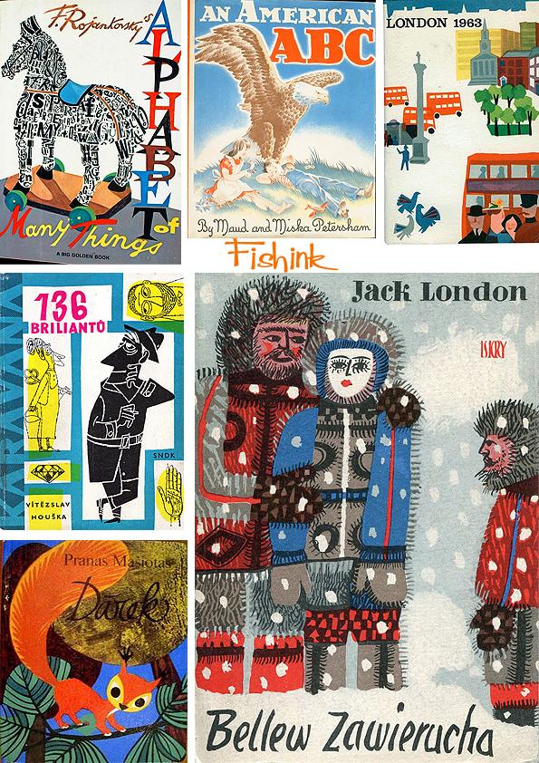 Fishinkblog 8067 Vintage Book Covers 7