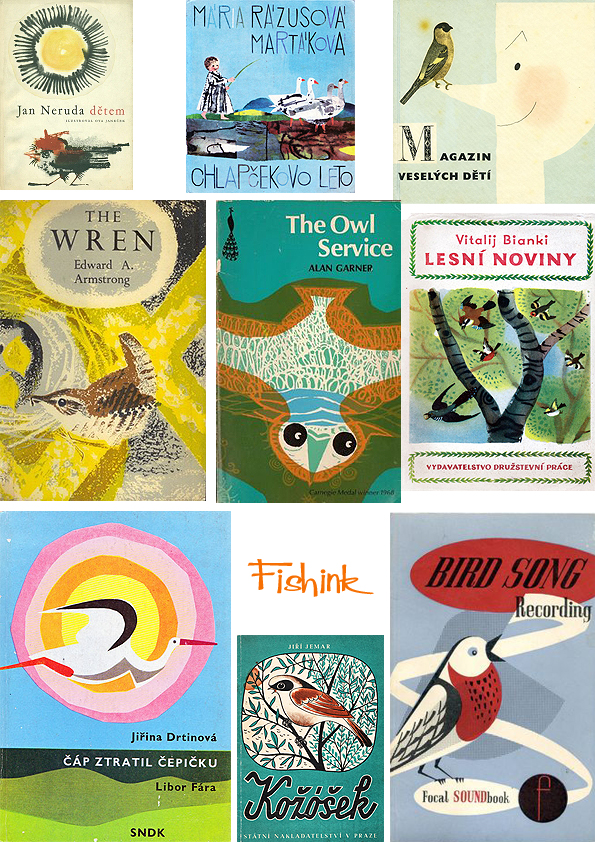 Fishinkblog 8068 Vintage Book Covers 8