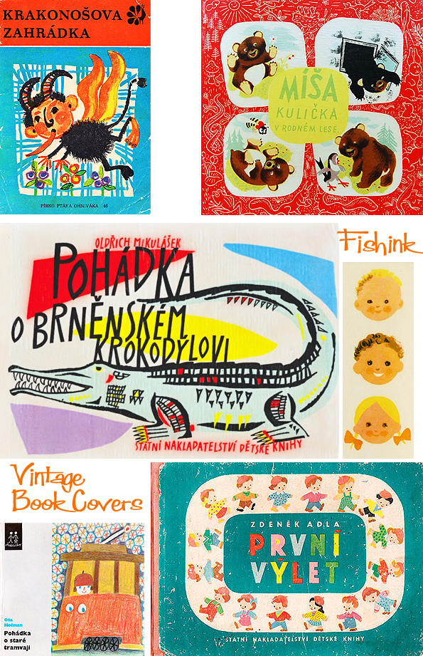 Fishinkblog 8070 Vintage Book Covers 10