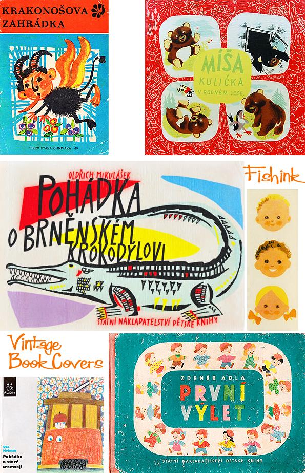 Fishinkblog 8070 Vintage Book Covers 10