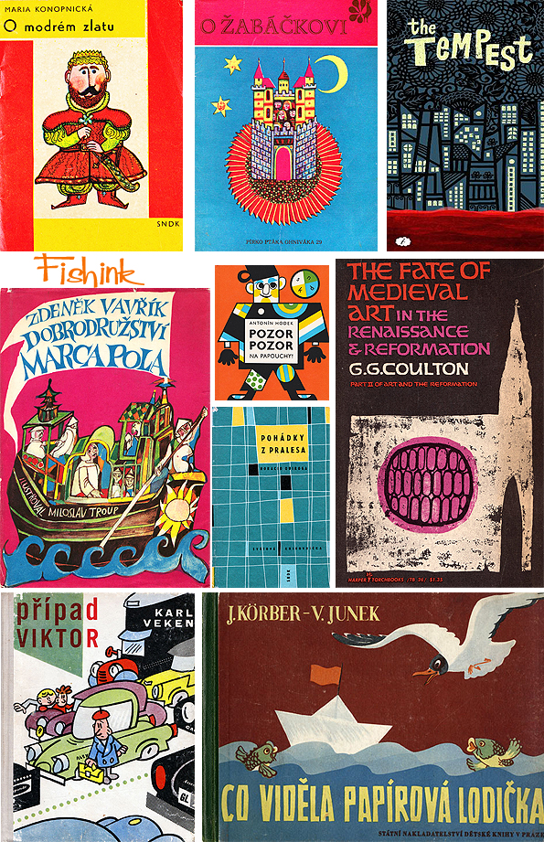 Fishinkblog 8071 Vintage Book Covers 11