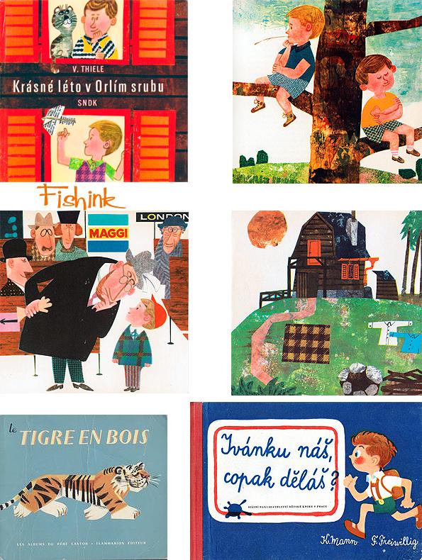 Fishinkblog 8072 Vintage Book Covers 12