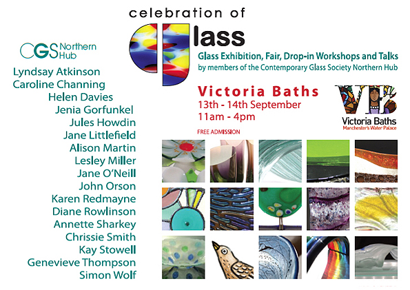 Glass event Victoria Baths