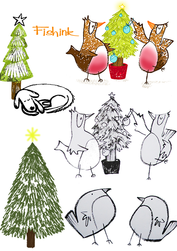 Fishinkblog 8336 Christmas Cards 2 2014