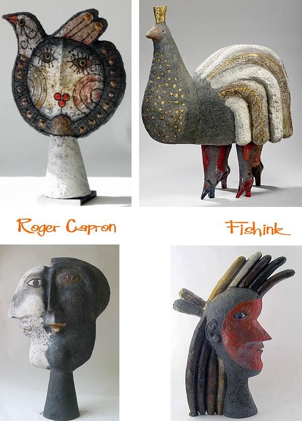 Roger Capron Mid Century Ceramics And Furniture