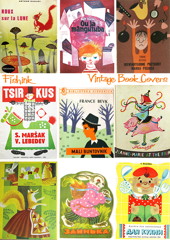 Fishinkblog 8949 Vintage Book Covers 2