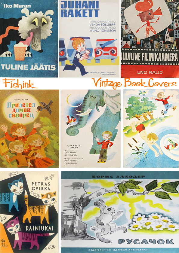 Fishinkblog 8950 Vintage Book Covers 3