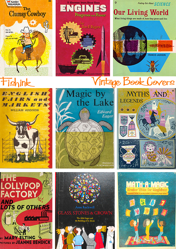 Fishinkblog 8952 Vintage Book Covers 5