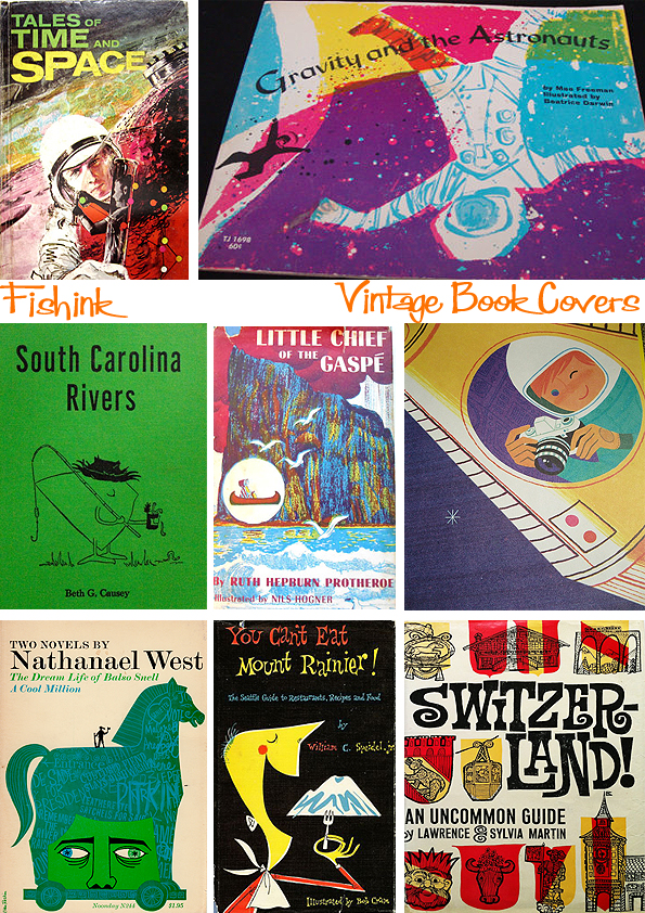 Fishinkblog 8953 Vintage Book Covers 6