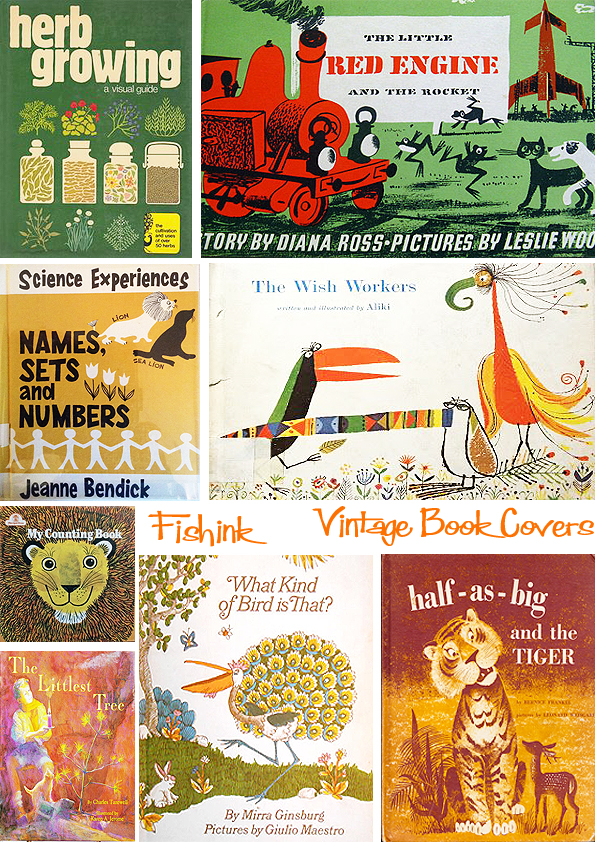 Fishinkblog 8954 Vintage Book Covers 7