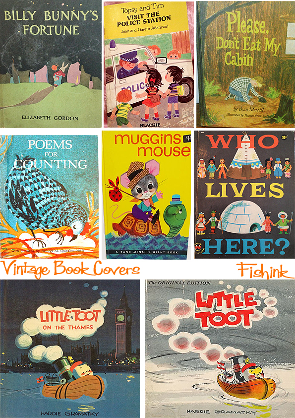 Fishinkblog 8957 Vintage Book Covers 10