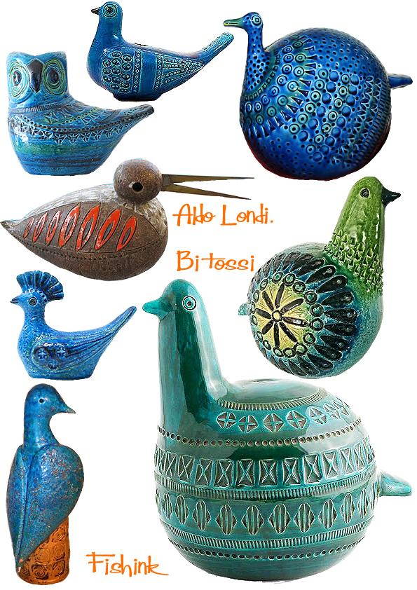 aldo londi mid century ceramics for bitossi