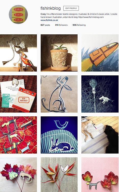 Fishink Instagram