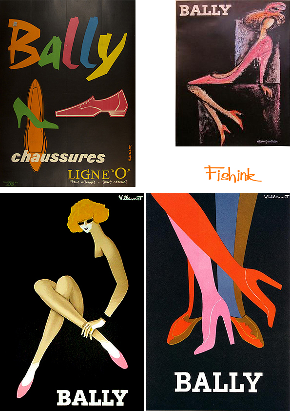 Fishinkblog 9657 Vintage Shoe Posters 1