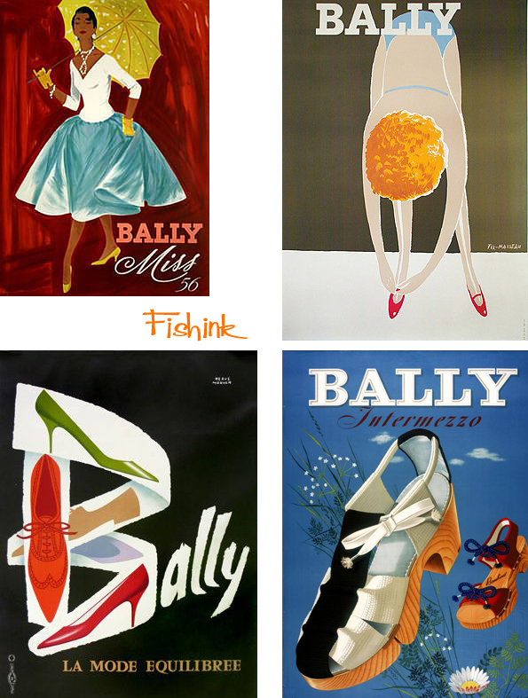 Fishinkblog 9658 Vintage Shoe Posters 2