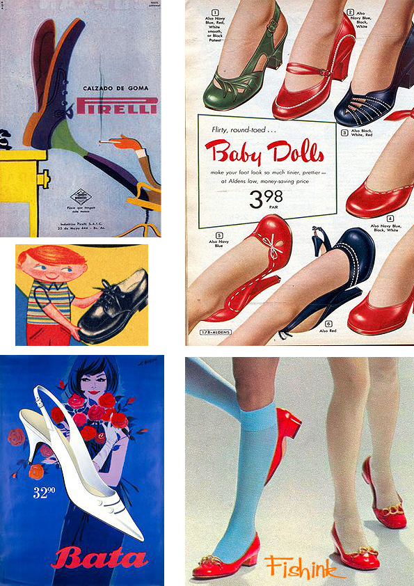 Fishinkblog 9660 Vintage Shoe Posters 4
