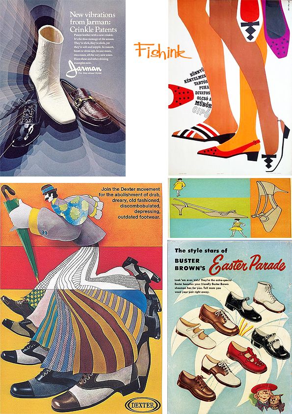 Fishinkblog 9661 Vintage Shoe Posters 5