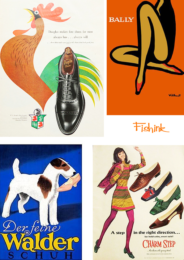 Fishinkblog 9664 Vintage Shoe Posters 8