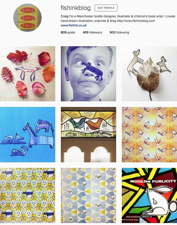 Fishinkblog Instagram