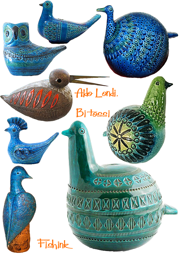 Ceramic Birds And Sunbirds